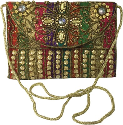 X-WELL Wedding, Party, Festive Multicolor  Clutch