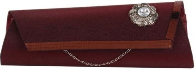 Cocktail Women, Girls Casual Maroon  Clutch