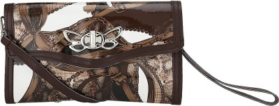 Ambience Casual, Party, Festive Brown  Clutch