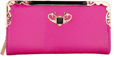 Aliza Women Casual Pink  Clutch