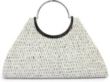 Histeria Women Casual Silver  Clutch