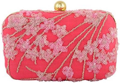 DUCHESS Wedding, Party Pink, Gold  Clutch