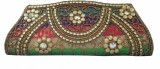 Maayas Women Party Multicolor  Clutch