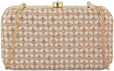 Arisha kreation Co Wedding White  Clutch