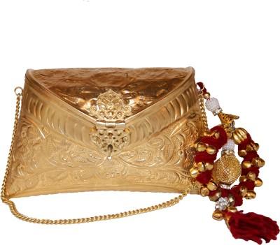 Ruhmet Women Party Gold  Clutch