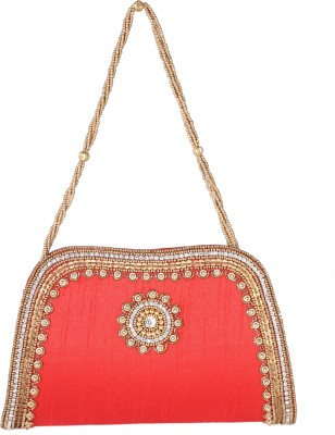Azores Festive Red  Clutch