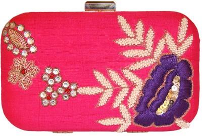 Ruhmet Women Party Pink  Clutch