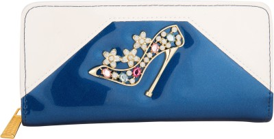 Aliza Women Party Blue  Clutch