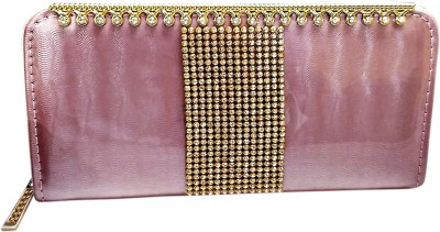A To Z Creations Casual, Party Pink  Clutch