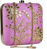 Sadaf Women Pink  Clutch