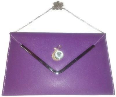 JMD Casual, Party, Wedding, Formal, Festive Purple  Clutch