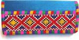 Indian Swan Women Party Blue  Clutch
