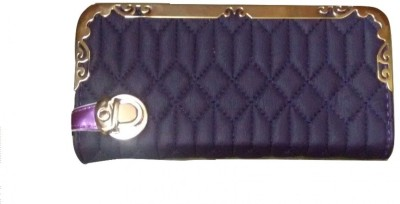 Ud Creation Casual, Formal, Party Purple  Clutch