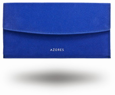 Azores Women Casual Blue  Clutch