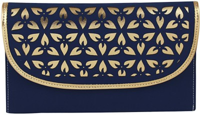 Gihaan Party, Festive Blue  Clutch