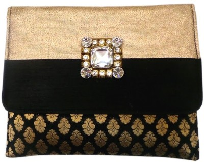 Bhamini Women Festive Black  Clutch
