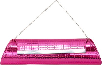 VERMELLO Casual, Party Pink  Clutch