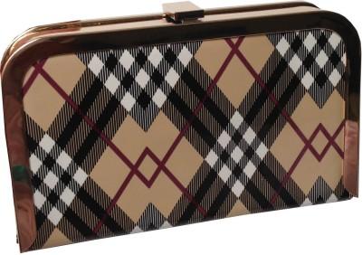 Grace Fashion Villa Brown  Clutch