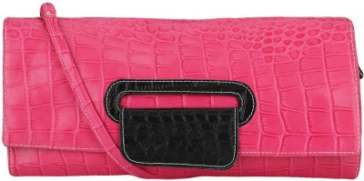 Luxury Living Casual Pink  Clutch