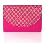 Cartera Women Pink  Clutch