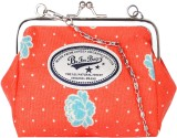 Be for Bag Women Casual Orange  Clutch
