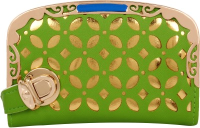 A&P ENTERPRISES Party, Casual, Casual, Formal, Festive, Sports Green  Clutch