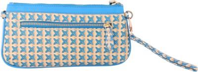 Priya Exports Blue  Clutch