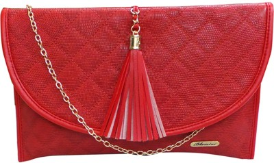 Bhamini Casual Red  Clutch