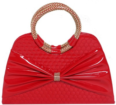 Naina Party Red  Clutch