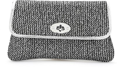 Elligator Women Party Grey  Clutch