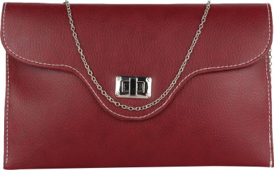 Cocktail Casual Maroon  Clutch