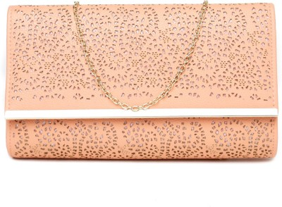 Dressberry Orange  Clutch