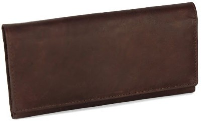 League Leather Casual Brown  Clutch