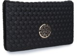 Star Style Women Party Black  Clutch