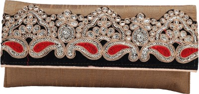 Ashyam Party Gold  Clutch