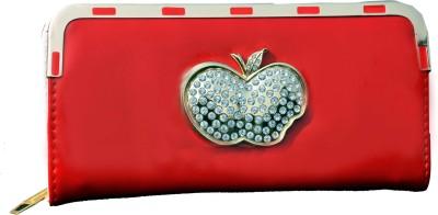 SK-Effects7 Casual Red  Clutch