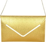Uno Covers Women Gold  Clutch