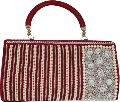 Glitter Collection Wedding, Festive, Party Red  Clutch