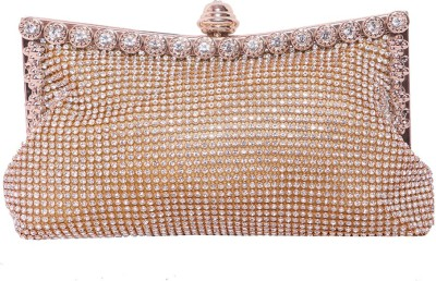 Pantof Party Gold  Clutch