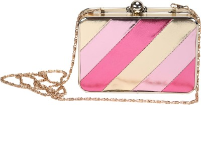 Mese Casual Pink  Clutch