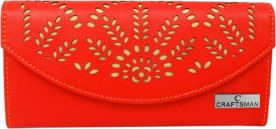 Craftsman Enterprises Casual Red  Clutch