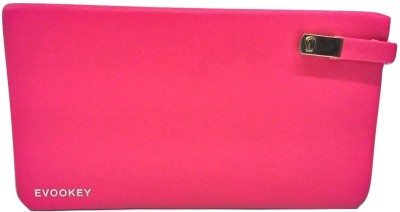Evookey Casual, Wedding, Party, Formal, Festive Pink  Clutch