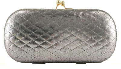 Anmita Wedding, Casual, Party, Festive Black, Gold  Clutch