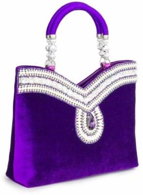 Penguin Girls Party Purple  Clutch