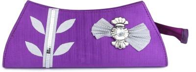 D AUSTIN KING Casual Purple  Clutch