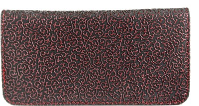 Tripssy Girls Festive, Casual, Party Black, Pink  Clutch
