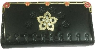 Smyle Casual Black  Clutch