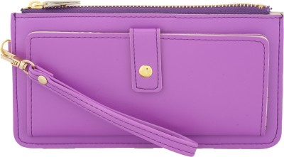 Fristo Casual Purple  Clutch