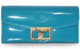 Fab Fashion Women Blue  Clutch
