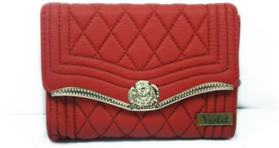 VIOLET Party, Wedding, Formal Red  Clutch